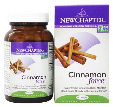 DROPPED: New Chapter - Cinnamonforce - 120 Softgels