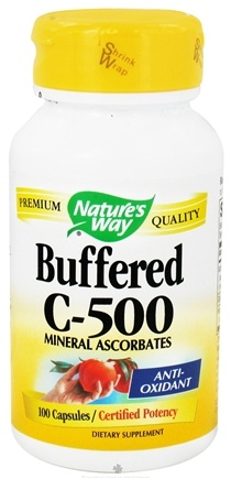 DROPPED: Nature's Way - Buffered C-500 - 100 Capsules CLEARANCE PRICED