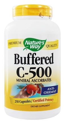 Nature's Way - Buffered C-500 - 250 Capsules