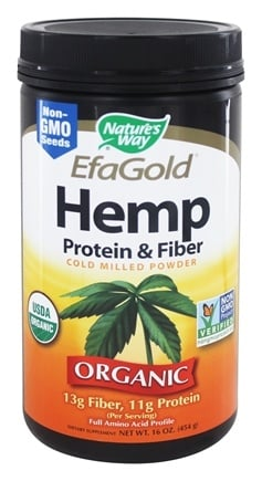 Zoom View - Hemp Protein And Fiber Powder
