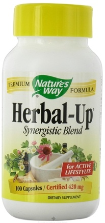 DROPPED: Nature's Way - Herbal-Up 420 mg. - 100 Capsules