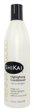 Shikai - Henna Gold Highlighting Conditioner - 12 oz.