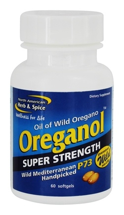 North American Herb & Spice - Super Strength Oreganol Caps - 60 Softgels