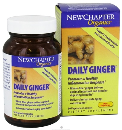 DROPPED: New Chapter - Daily Ginger - 90 Vegetarian Capsules