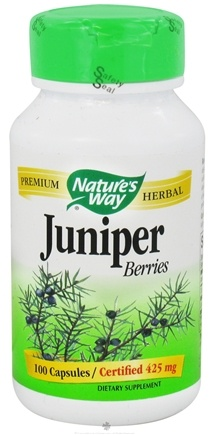 DROPPED: Nature's Way - Juniper Berries 425 mg. - 100 Capsules