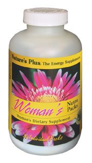 DROPPED: Nature's Plus - Women's Nutra Pack (Tablets/Softgels) - 30 Pack(s)