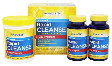 Zoom View - Total Body Rapid Cleanse Kit