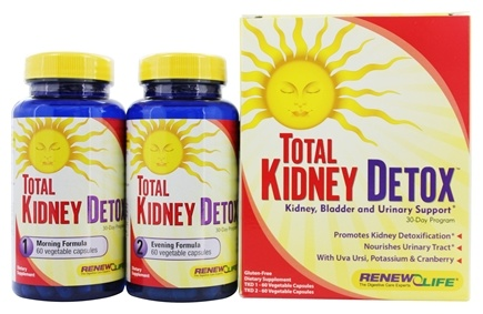 DROPPED: Renew Life - Total Kidney Cleanse 30-Day Program - 120 Capsules