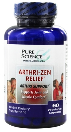 DROPPED: Pure Science International - Arthri Zen Relief formerly by RZN - 60 Vegetarian Capsules