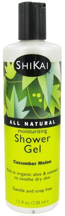 Shikai - Moisturizing Shower Gel Cucumber Melon - 12 oz.
