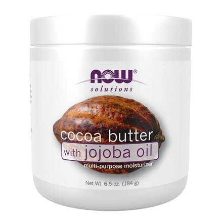 NOW Foods - Cocoa Butter with Jojoba Oil Multi-Purpose Moisturizer - 6.5 oz.