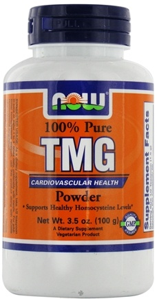 DROPPED: NOW Foods - TMG (Trimethylglycine) Powder - 3.5 oz.