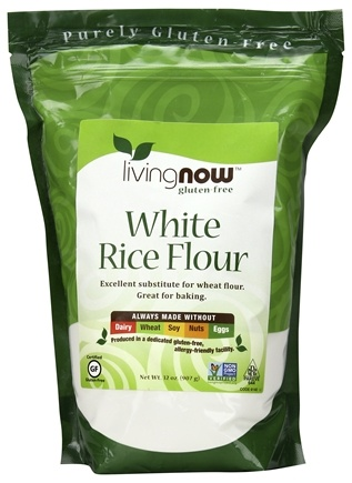 DROPPED: NOW Foods - White Rice Flour - 32 oz. CLEARANCE PRICED