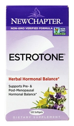 New Chapter - Estrotone - 120 Softgels