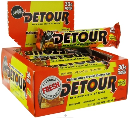 Zoom View - Detour Whey Protein Energy Bar