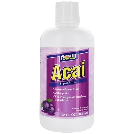 NOW Foods - Acai Super Fruit Antioxidant Juice - 32 oz.
