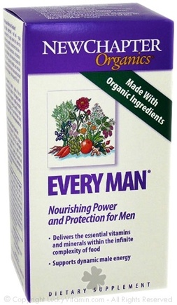 DROPPED: New Chapter - Every Man SPECIALLY PRICED - 60 Tablets