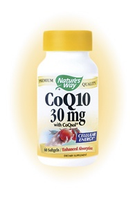 DROPPED: Nature's Way - CoQ10 30 mg. - 60 Softgels