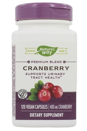 Nature's Way - Cranberry Standardized Extract - 120 Vegetarian Capsules