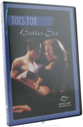 DROPPED: Sinclair Institute - Toys for Better Sex - 1 DVD(s) CLEARANCE PRICED