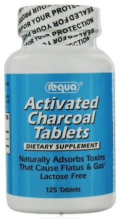 DROPPED: Requa - Charcoal Tablets-#10 - 125 Tablets