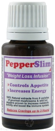 DROPPED: Buster Brands - Pepper Slim Weight Loss Infusion - 15 ml. Formerly SiCap Industries