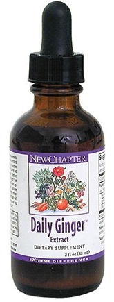 DROPPED: New Chapter - Daily Ginger Extract - 1 oz.