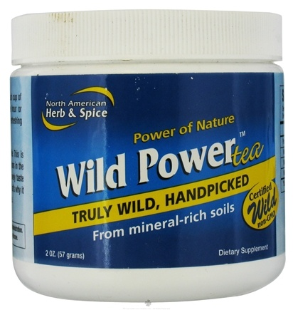 DROPPED: North American Herb & Spice - Wild Power Tea - 2 oz.