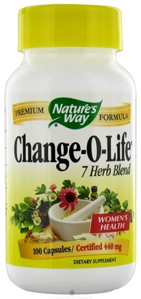 DROPPED: Nature's Way - Change-O-Life 7 Herb Blend 440 mg. - 100 Capsules CLEARANCE PRICED