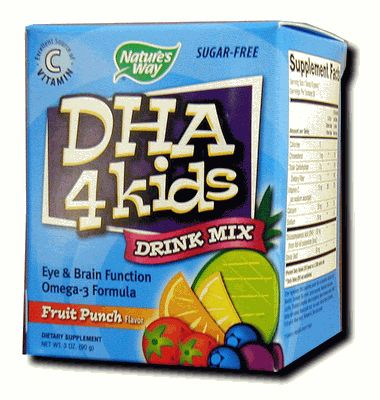 DROPPED: Nature's Way - DHA 4 Kids - 3 oz.