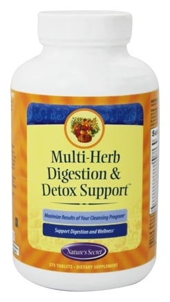 Nature's Secret - Multi-Herb Digestion and Detox Support - 275 Tablets