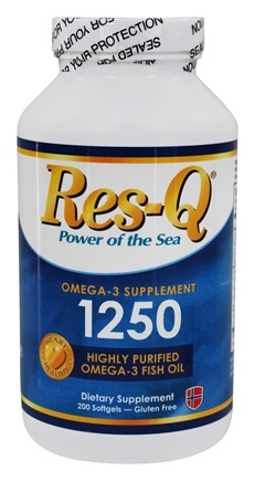 DROPPED: Res-Q - 1250 Omega-3s - 200 Capsules