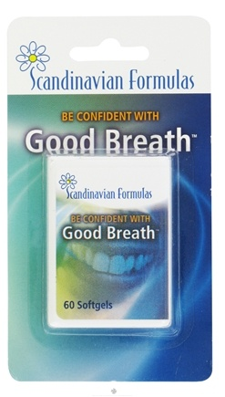 DROPPED: Scandinavian Formulas - Good Breath - 60 Softgels