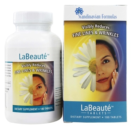 DROPPED: Scandinavian Formulas - LaBeaute - 180 Tablets