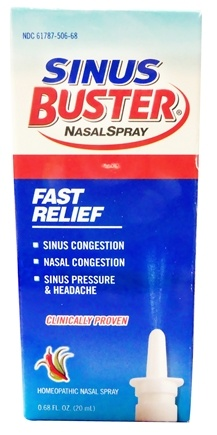 Zoom View - Sinus Buster All Natural Nasal Spray