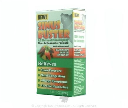 DROPPED: Buster Brands - Sinus Buster Original Natural Nasal Spray - 1.15 oz. Formerly SiCap Industries