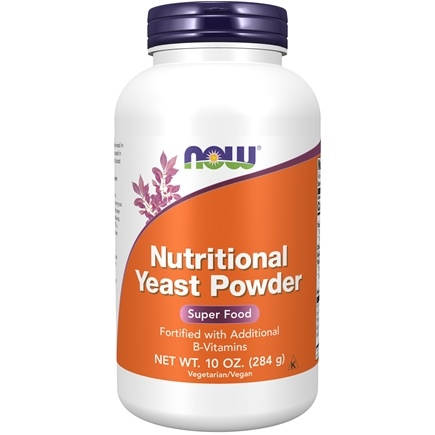 NOW Foods - Nutritional Yeast Powder - 10 oz.