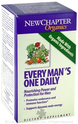 DROPPED: New Chapter - Every Man's One Daily - 90 Tablets SPECIALLY PRICED