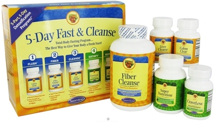 DROPPED: Nature's Secret - 5-Day Fast & Cleanse Kit