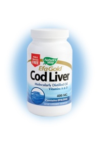 DROPPED: Nature's Way - Cod Liver Oil - 250 Softgels