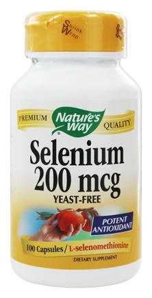 Nature's Way - Selenium 200 mcg. - 100 Capsules