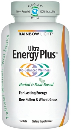 DROPPED: Rainbow Light - Ultra Energy Plus - 120 Tablets