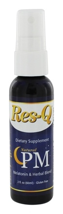 DROPPED: Res-Q - SLEEP - Prescription-Free Liquid Herbal Sleep Aid Spray - 60 ml.