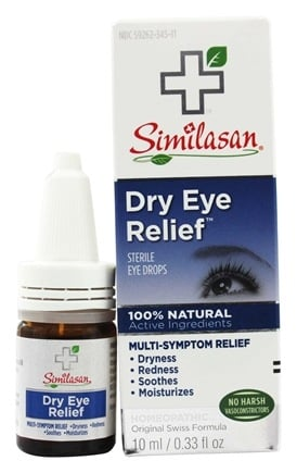 Similasan - Dry Eye Relief Eye Drops - 0.33 oz.