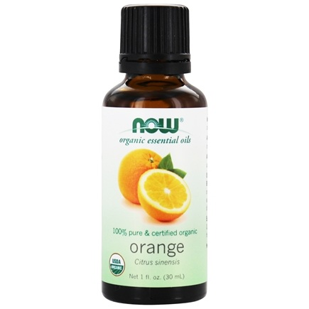 NOW Foods - Orange Oil Organic - 1 oz.