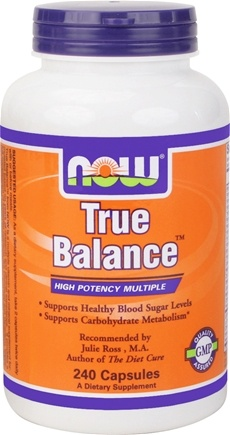 DROPPED: NOW Foods - True Balance High Potency Multiple - 240 Capsules CLEARANCE PRICED