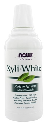 NOW Foods - Xyliwhite Mouthwash Refreshmint Flavor - 16 oz.