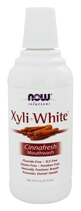 Zoom View - XyliWhite Mouthwash Cinnafresh Flavor
