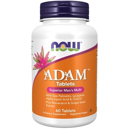NOW Foods - ADAM Superior Men's Multi - 60 Tablets