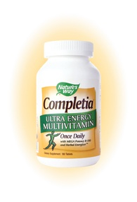 DROPPED: Nature's Way - Completia Energy - 180 Tablets